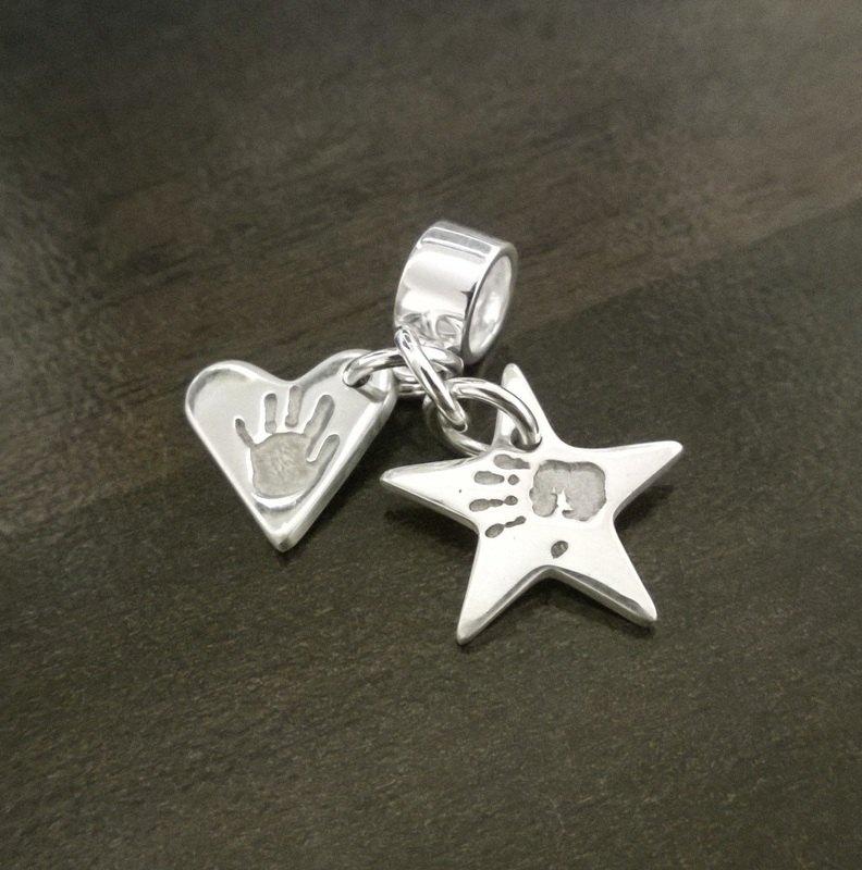 heart & star charm