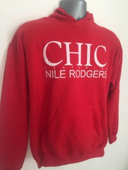 CHIC & Nile Rodgers hoodie size L