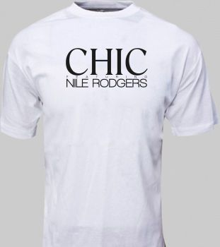 CHIC Nile Rodgers t-shirt size S