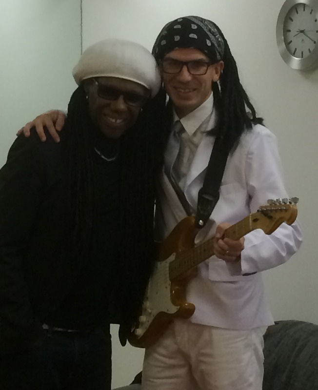 Nile Rodgers and Tribute Nile