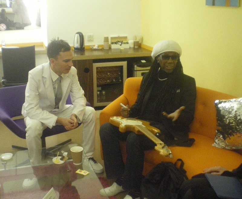 meeting nile rodgers