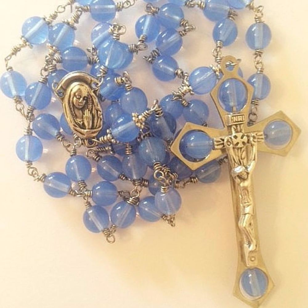 Comforter of the Afflicted Rosary Beads