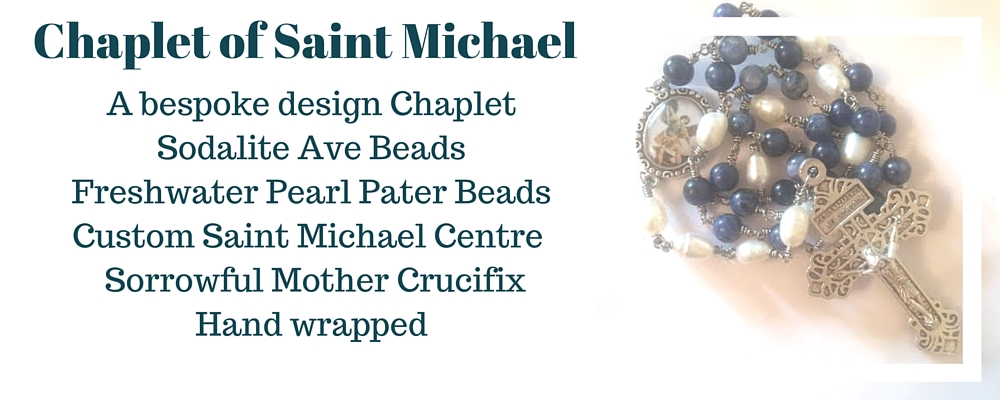 banner chaplet of saint michael