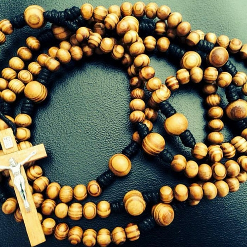 Dominican Rosary Beads traditionally have 15 decades