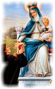 Saint Louis de Montfort on the Rosary