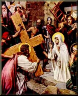 Mary Meets Jesus on the Way of the Cross