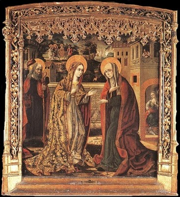 The Visitation of Mary to Elizabeth