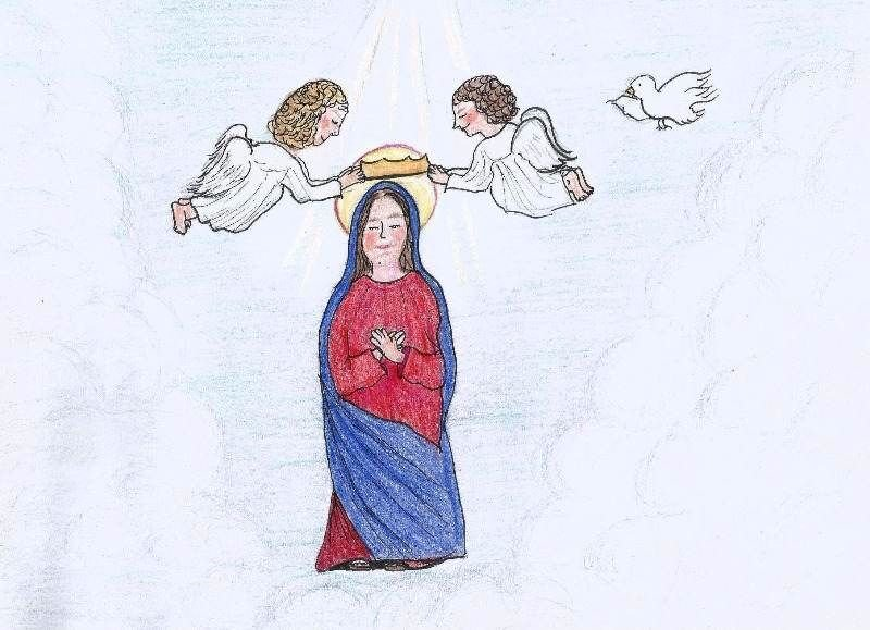 Mary is Crowned Queen of Heaven and all the Angels