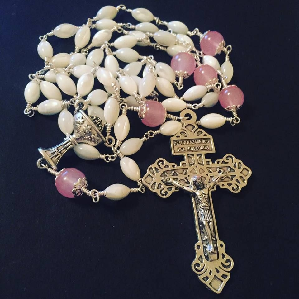 Beads with Faith First Holy Communion Rosary