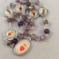 Chaplet of the Five Wounds - Amethyst