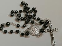 Chaplet of the Holy Face of Jesus - Hematite