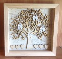 24x24 Family Tree Frame