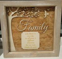 Laser Cut Family Tree Frames