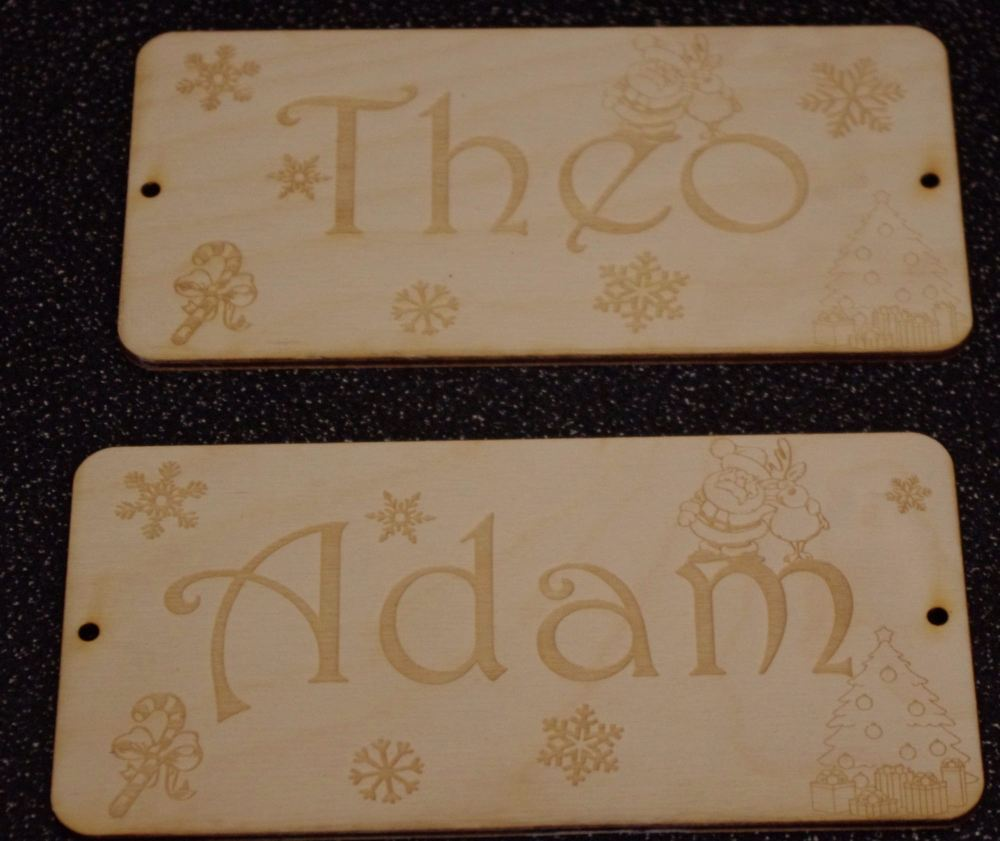 Personalised Stocking Tags