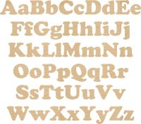 Ply Letters & Numbers Cooper font