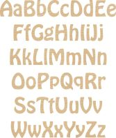 Ply Letter & Numbers Hobo Font
