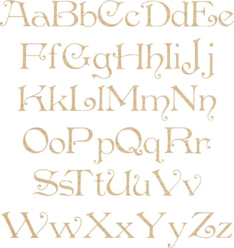 Ply Letter & Numbers Penshurst Font
