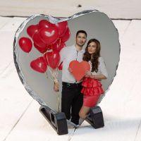Heart Slate 13cmx14cm