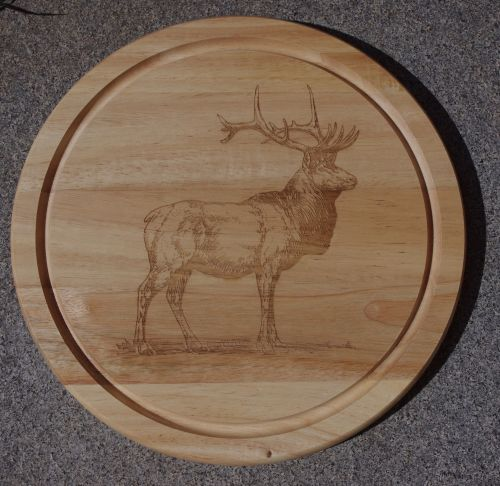 Chopping Board Stag