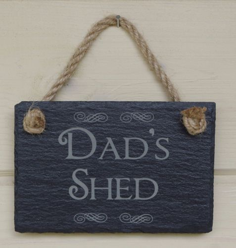 Small Slate Hanging Sign