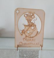 Christmas Card Mouse
