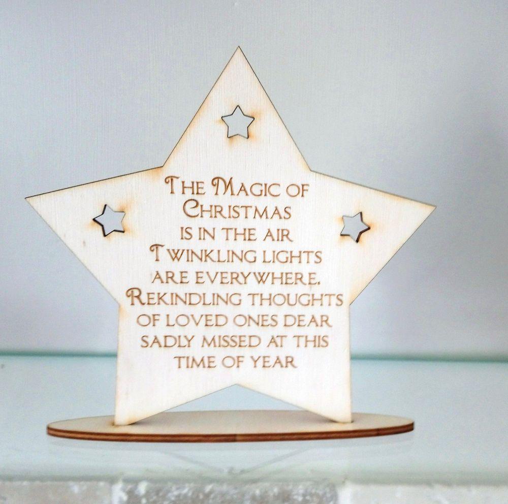 Free standing star