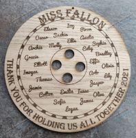 Button  Plaque