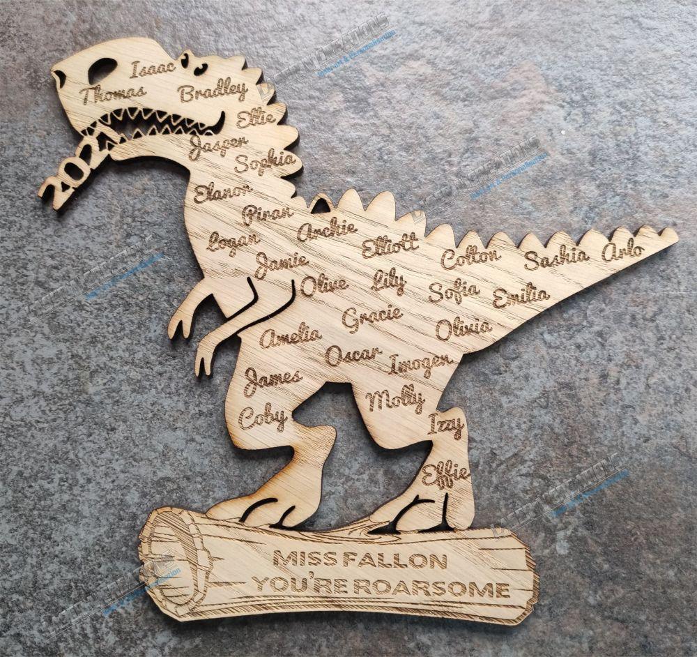 Dinosaur  Plaque