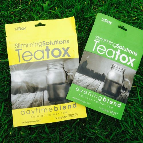 slimming solutions teatox tea detox cleanse - lylia rose uk lifestyle blog