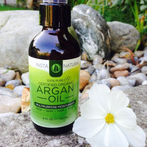 insta natural argan oil 100% cold pressed moisturiser - lylia rose beauty b