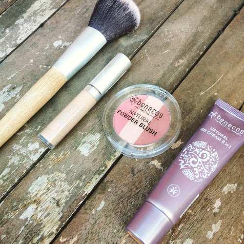 benecos natural make up concealer blush brush bb cream beauty - lylia rose