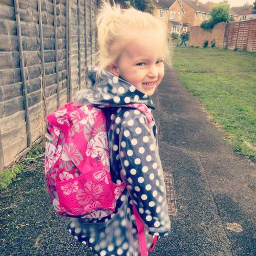 bella rose sully first day week preschool cute 3 year old toddler - lylia r