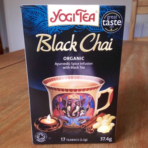 yogi tea black chai spiced organic herbal - lylia rose uk food healthy blog