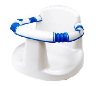 babyway bath seat white blue support 6 months holder - lylia rose lifestyle