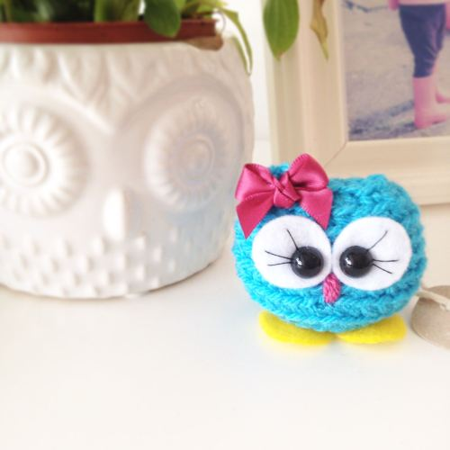 made by steffie b - cutie - handmade owl - saving for ivf - lylia rose life