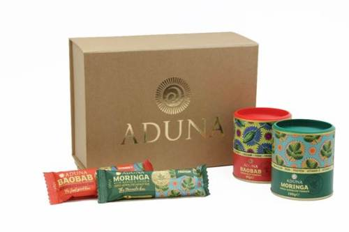 feel good gift set christmas aduna baobab moringa powder bar healthy presen