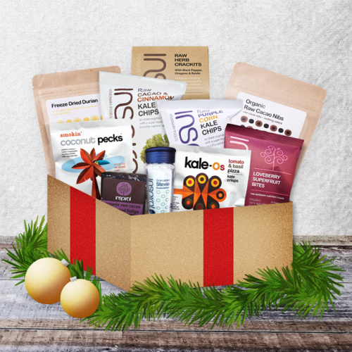 christmas bestsellers gift box inspiral snacks gift present healthy