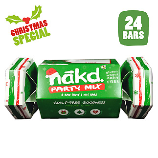 nakd christmas cracker gift healthy wholefood - lylia rose guide