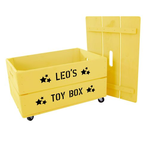 personalised kids toy box plantabox lylia rose boys storage ideas toys uk