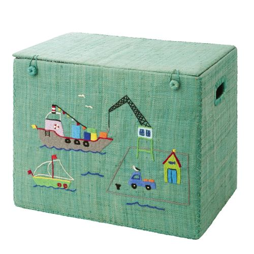 rice denmark harbour medium foldable toy storage basket boys storage guide