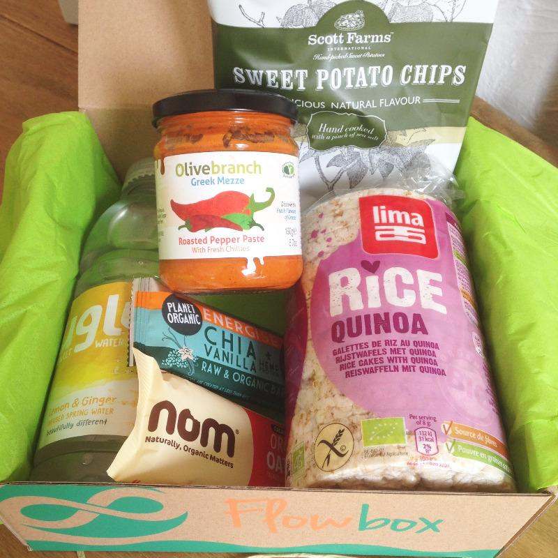 july 2015 flowbox mini vegan contents - lylia rose food lifestyle blog uk