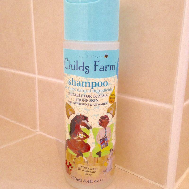 childs farm strawberry and organic mint natural childrens shampoo - lylia r