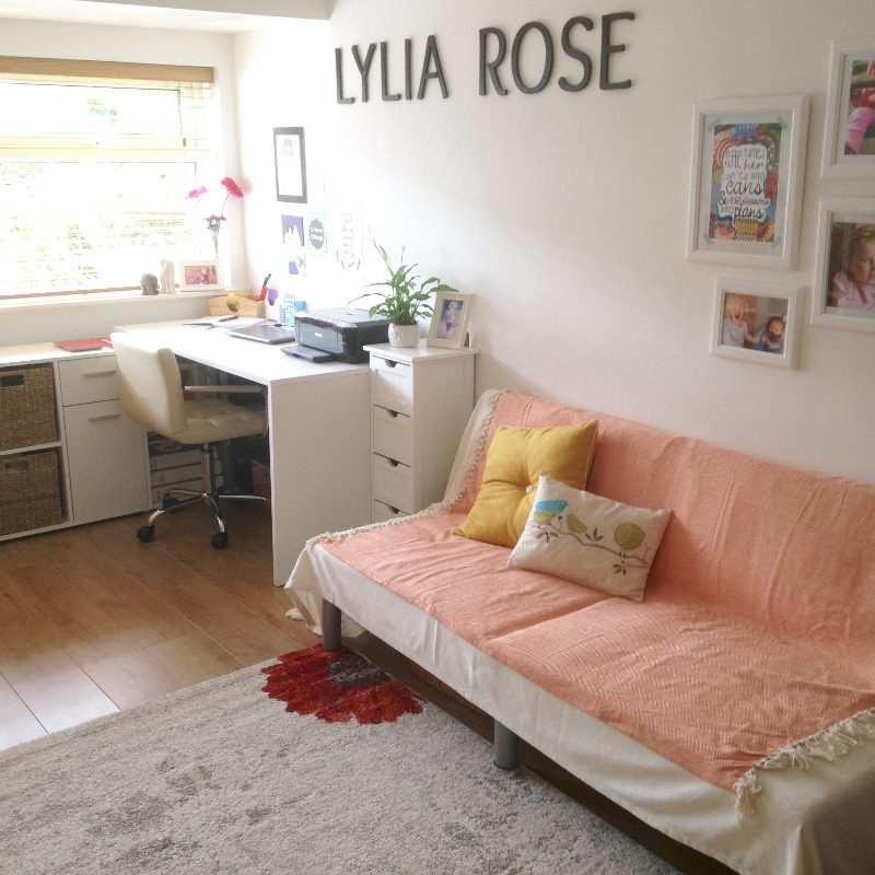 lylia rose office hq decor furniture room - lifestyle uk blog home full len