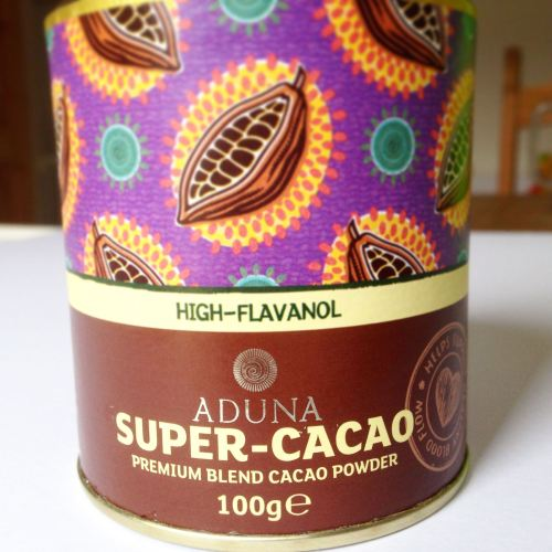 aduna cacao superfood powder recipe thoughts review blog uk healthy eating
