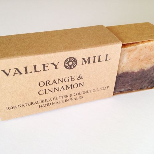 valley mill natural handmade cinnamon orange soap blog review lylia rose be