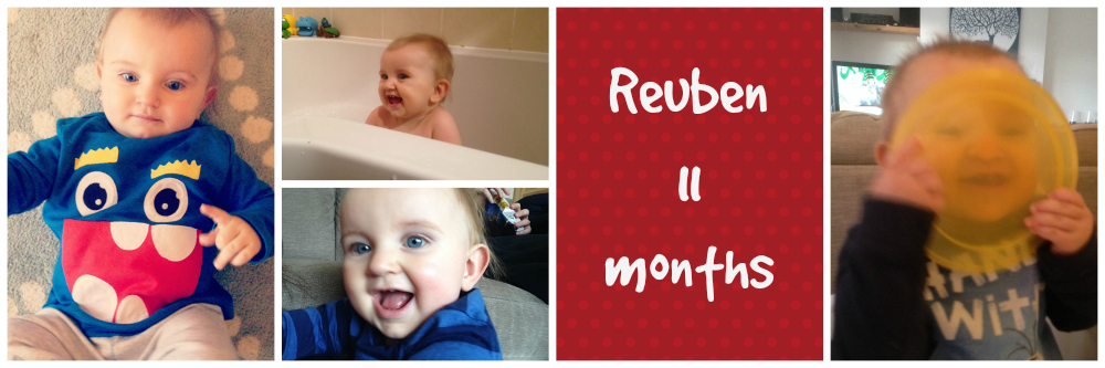 reuben 11 months old - family lifestyle baby blog uk
