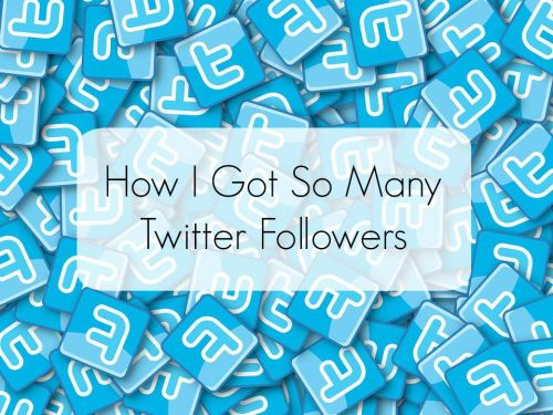 how i got so many twitter followers - tips and tricks