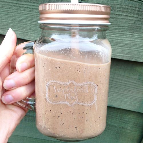 Healthy Creamy Chocolate & Cashew Smoothie with Nutri Advanced Superfood Plus - Lylia Rose UK Blog