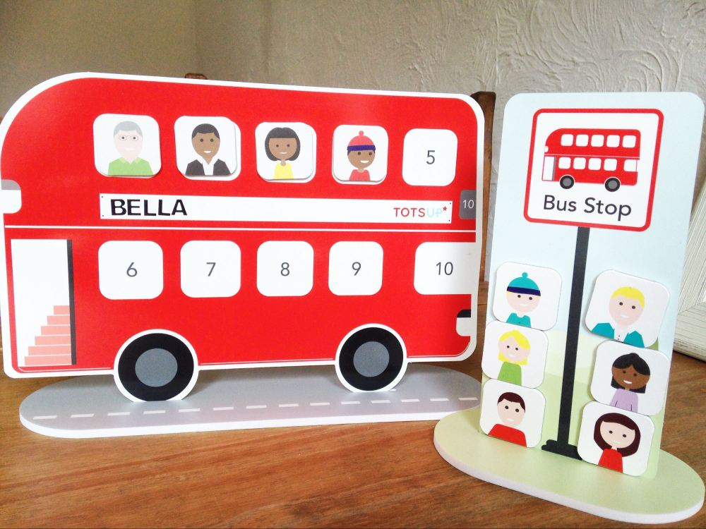 Tots Up – Big Red Bus Reward Chart – Lylia Rose Blog Review