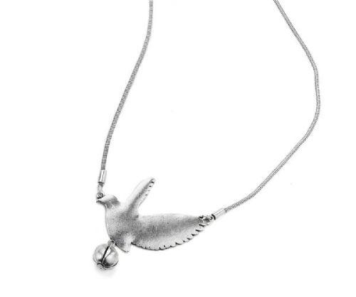 Long Dove Necklace